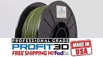 Army Green PLA Filament 1.75mm 1kg 3D Printer Filament Refill