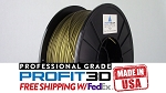 Gold Metallic PLA Filament 1.75mm 1kg 3D Printer Filament Refill