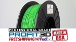 Green PLA Filament 1.75mm 1kg 3D Printer Filament Refill