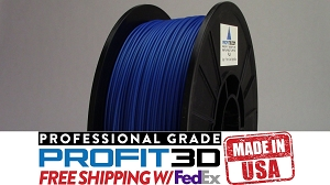 Bright Blue PLA Filament 1.75 1kg 3D Printer Filament Refill
